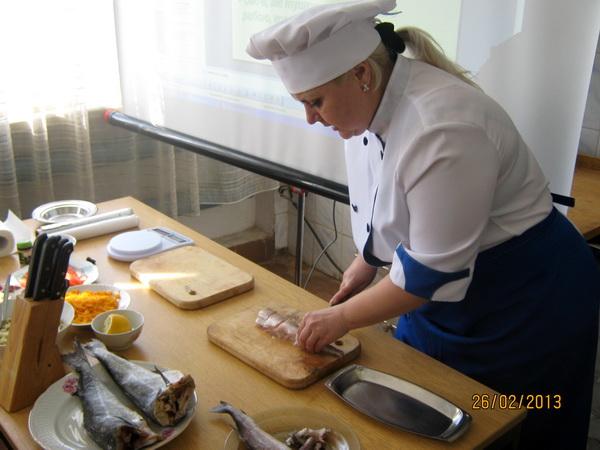 Приготування страв з смаженої та запеченої риби