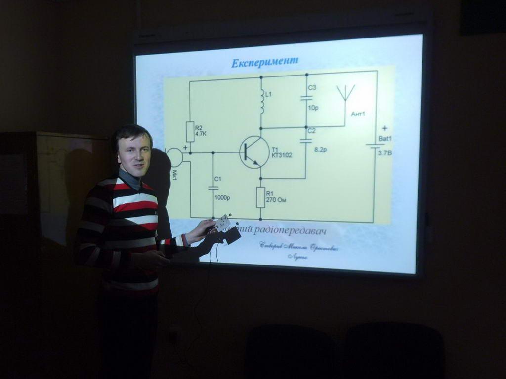 Відкритий урок «Коливальний контур. Виникнення електромагнітних коливань у коливальному контурі»