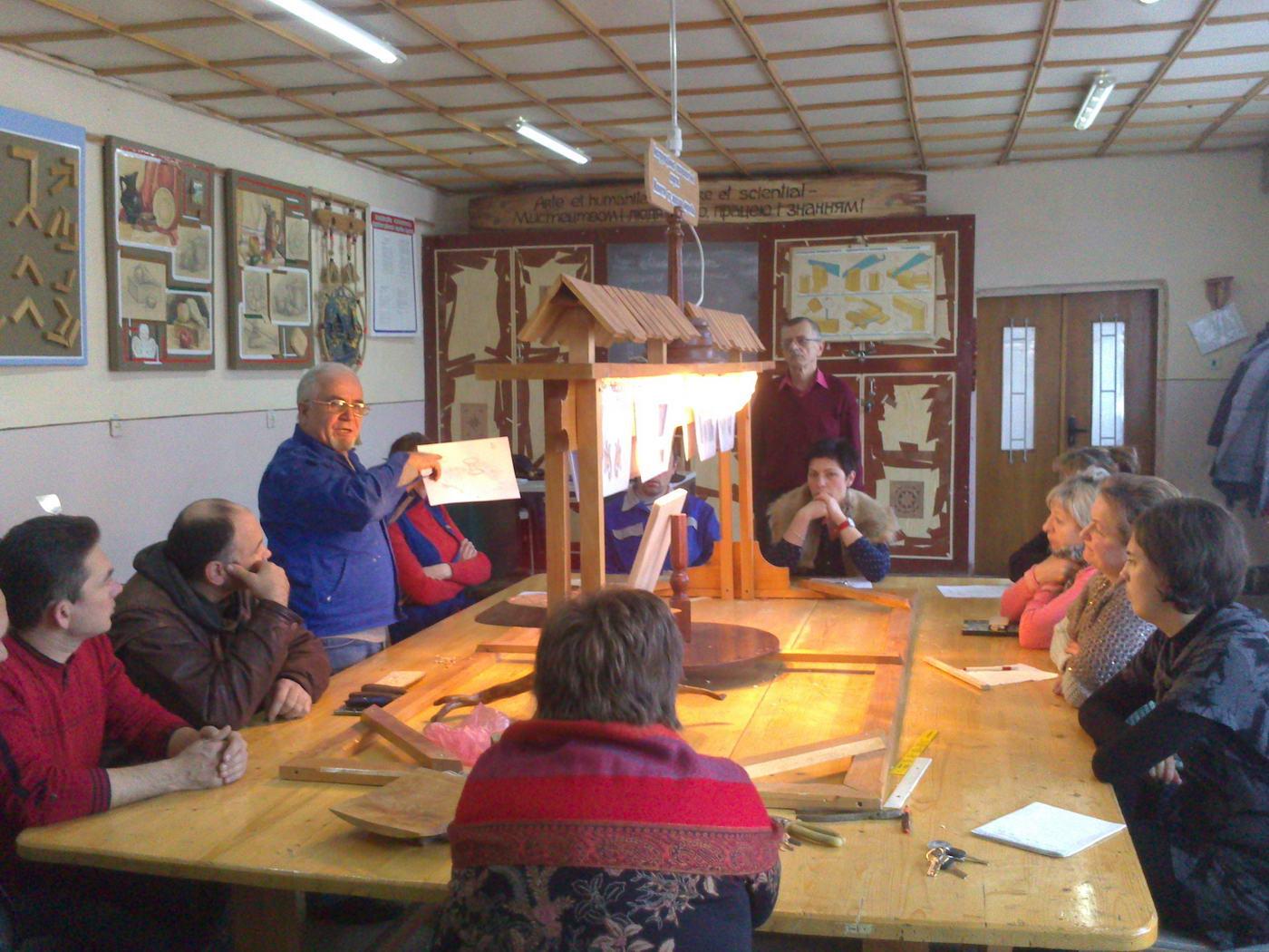 Засідання творчої групи педагогічних працівників професій деревообробки та сфери послуг