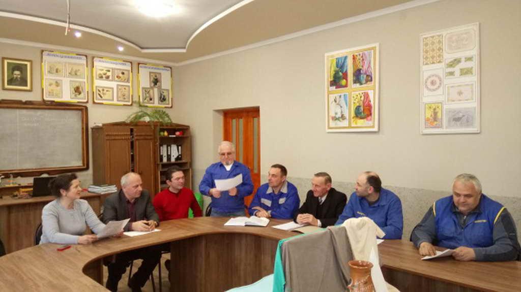Засідання методичної комісії педагогічних працівників професій деревообробки
