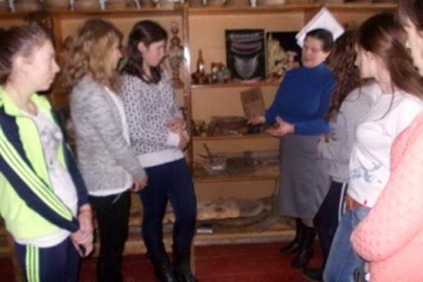 Учні групи №22 побували на екскурсії в етнографічному музеї ліцею