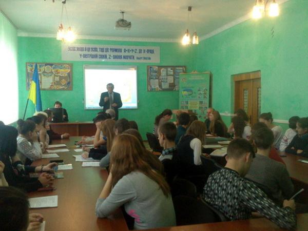 Ліцеїсти презентували свої навчальні проекти, в тому числі й на іноземній мові