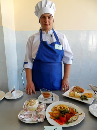 Учениці ліцею переможці обласного конкурсу фахової майстерності з професії кухар