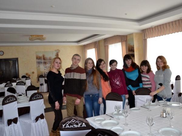 Учні ліцею відвідали ряд ресторанів Міжгірщини