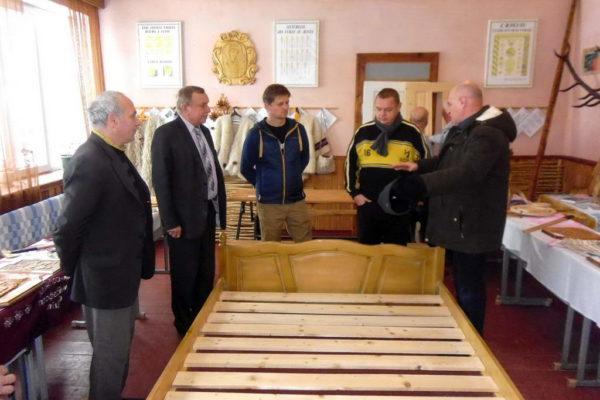 Ліцей відвідала група угорських бізнесменів