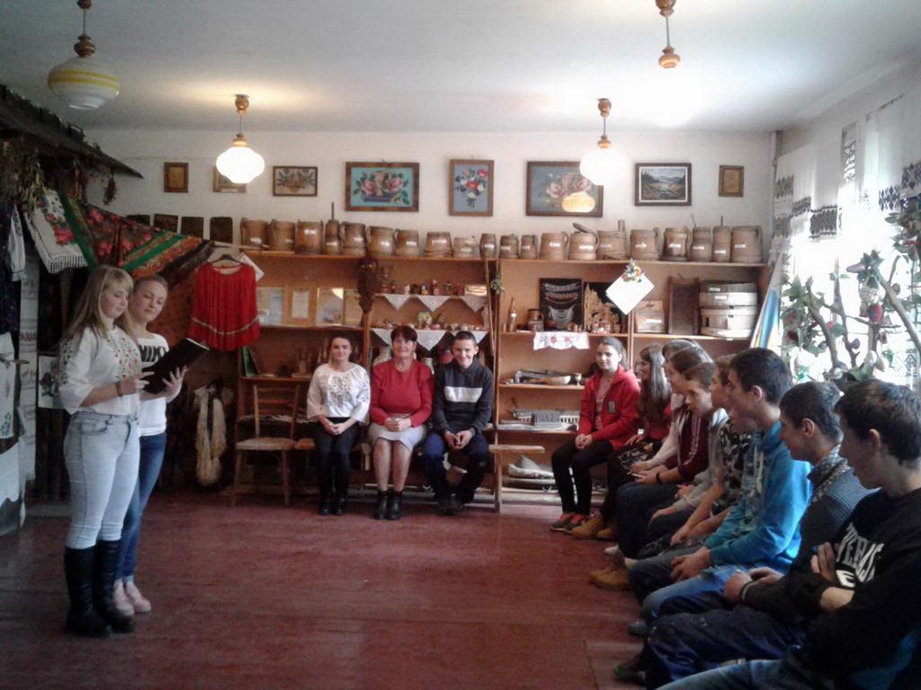Виховний захід присвячений дню української писемності та мови