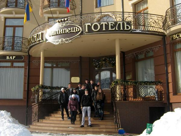 Відбулася екскурсія в готельний комплекс «Гранд Готель Пилипець»