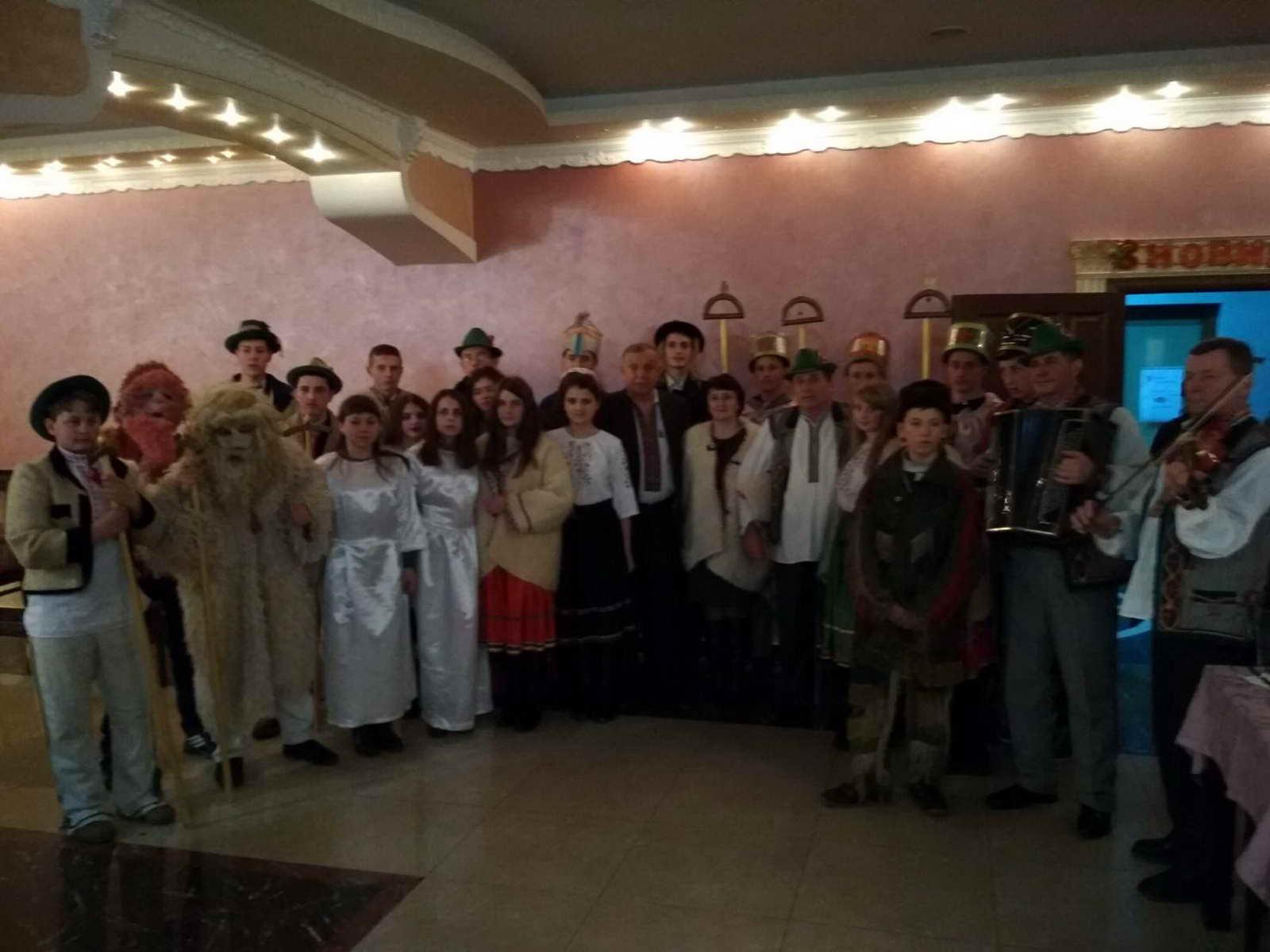 Учні ліцею взяли участь у першому Міжнародному колядницькому фестивалі «Василля»