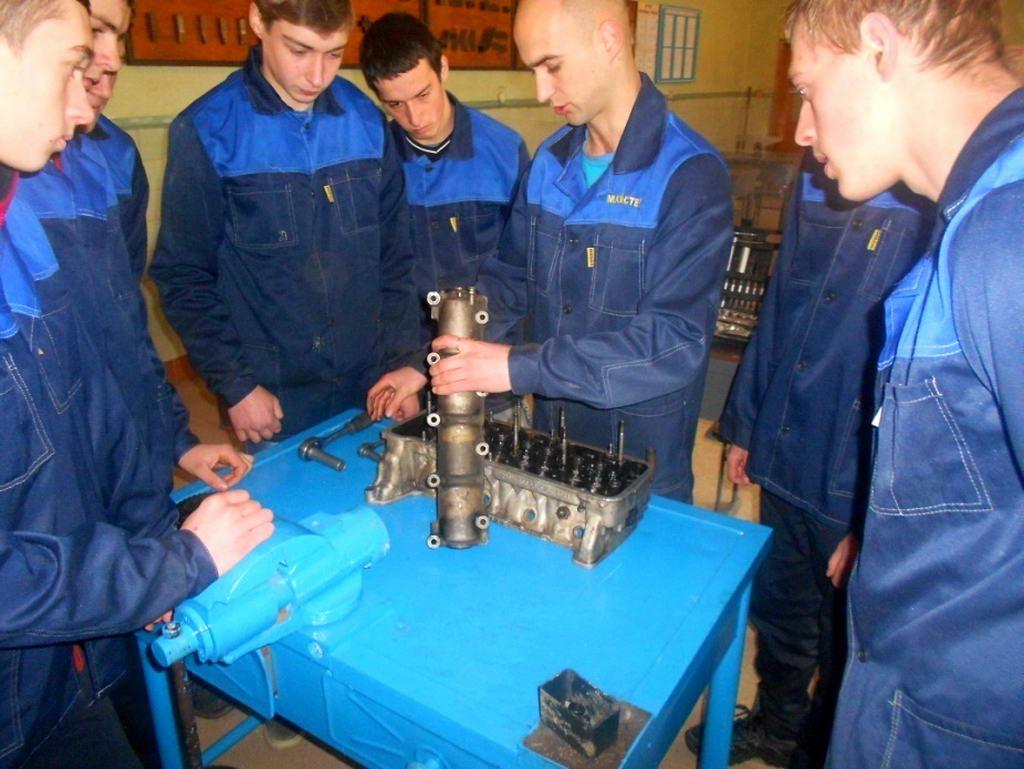 Семінар-практикум та майстер - клас проведений майстром виробничого навчання Мицою Є.І.