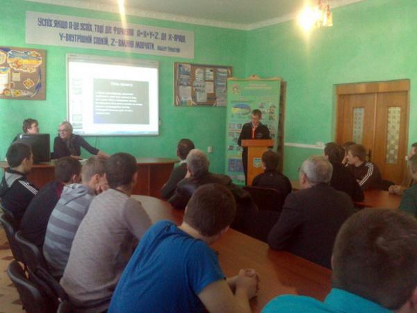 Триває презентація учнівських проектів