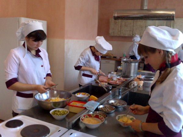 Учні показали своє вміння і навички після виробничої практики