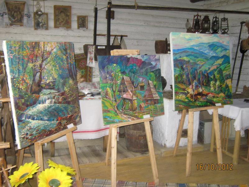 Виставка художніх робіт працівників та учнів ліцею з нагоди Дня художника