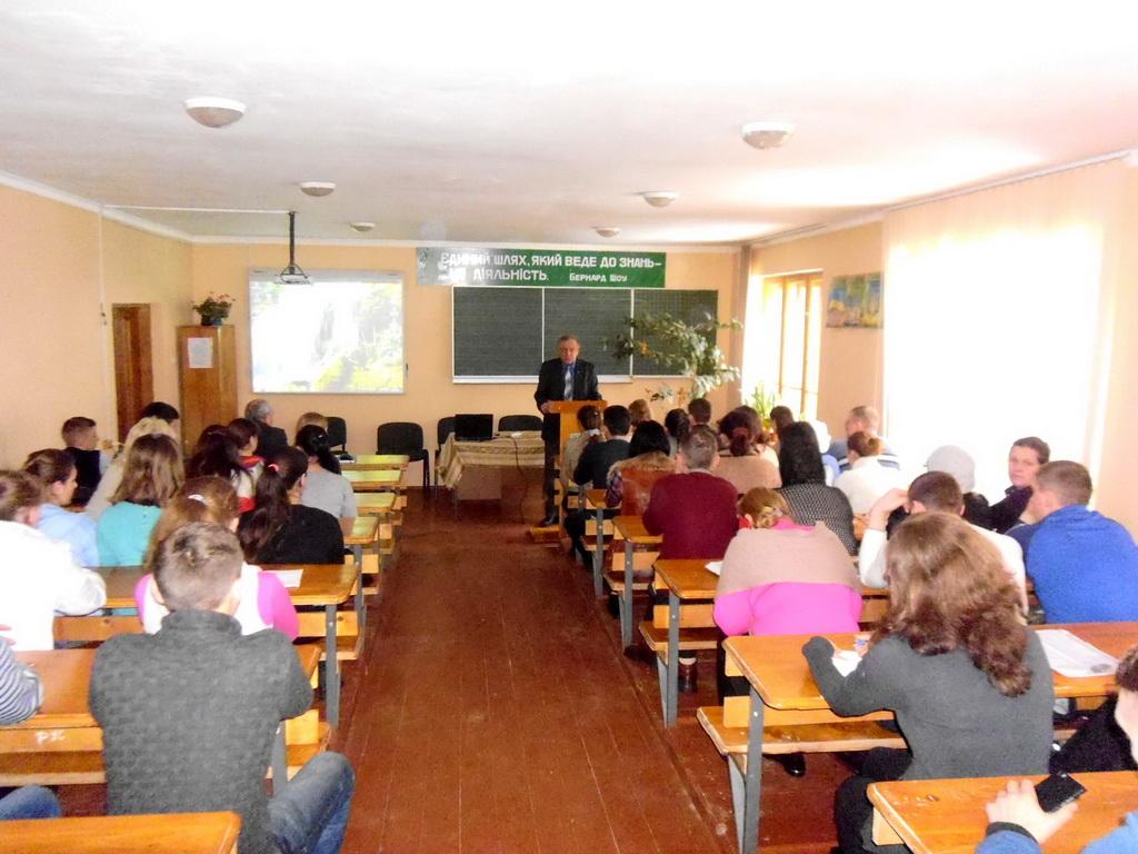 Розпочалась презентація учнівських проектів