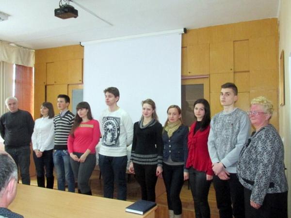 ІІ етап конкурсу на кращого знавця іноземної мови серед учнів професійно-технічних навчальних закладів області