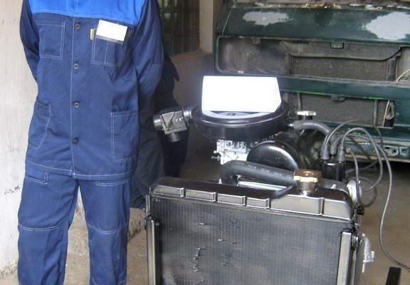 Виготовлення діючого макету двигуна внутрішнього згорання автомобіля ВАЗ 2101»
