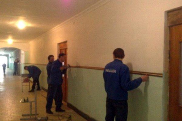 Оновлення коридору та сходової клітки навчального корпусу