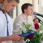 Урочиста лінійка присвячена дню Знань та початку навчального року