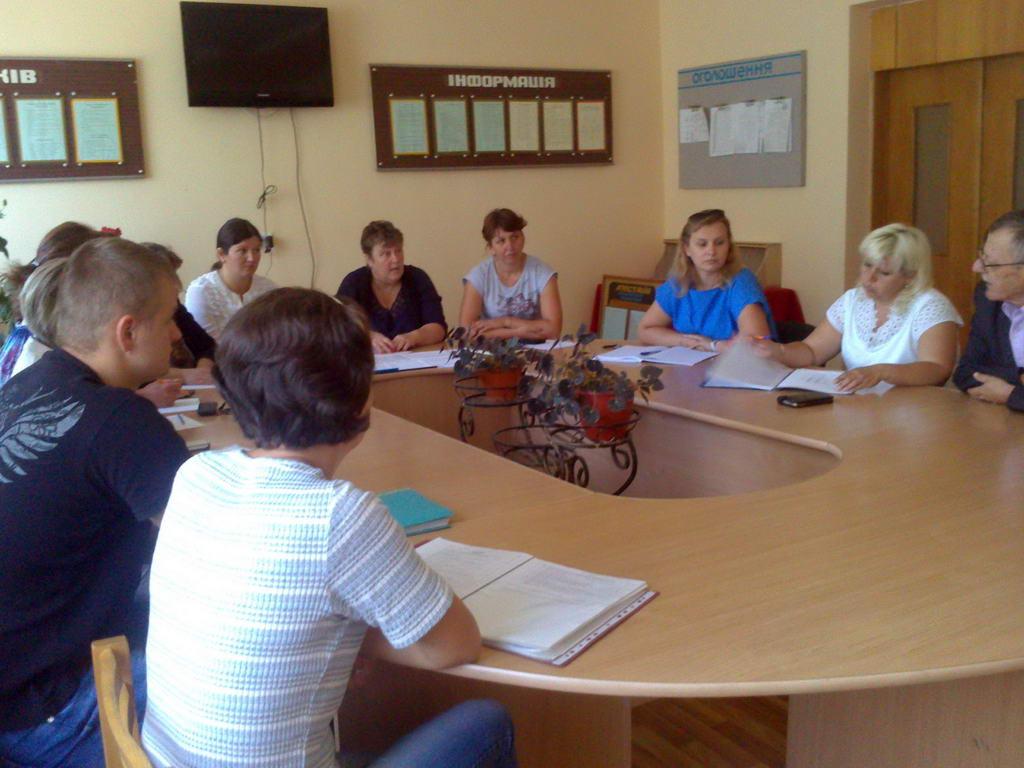 Відбулись перші засідання методичних комісій ліцею