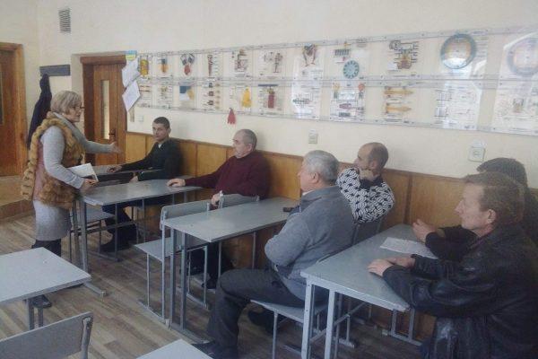 Засідання методичної комісії педагогічних працівників електротехнічних та слюсарних професій