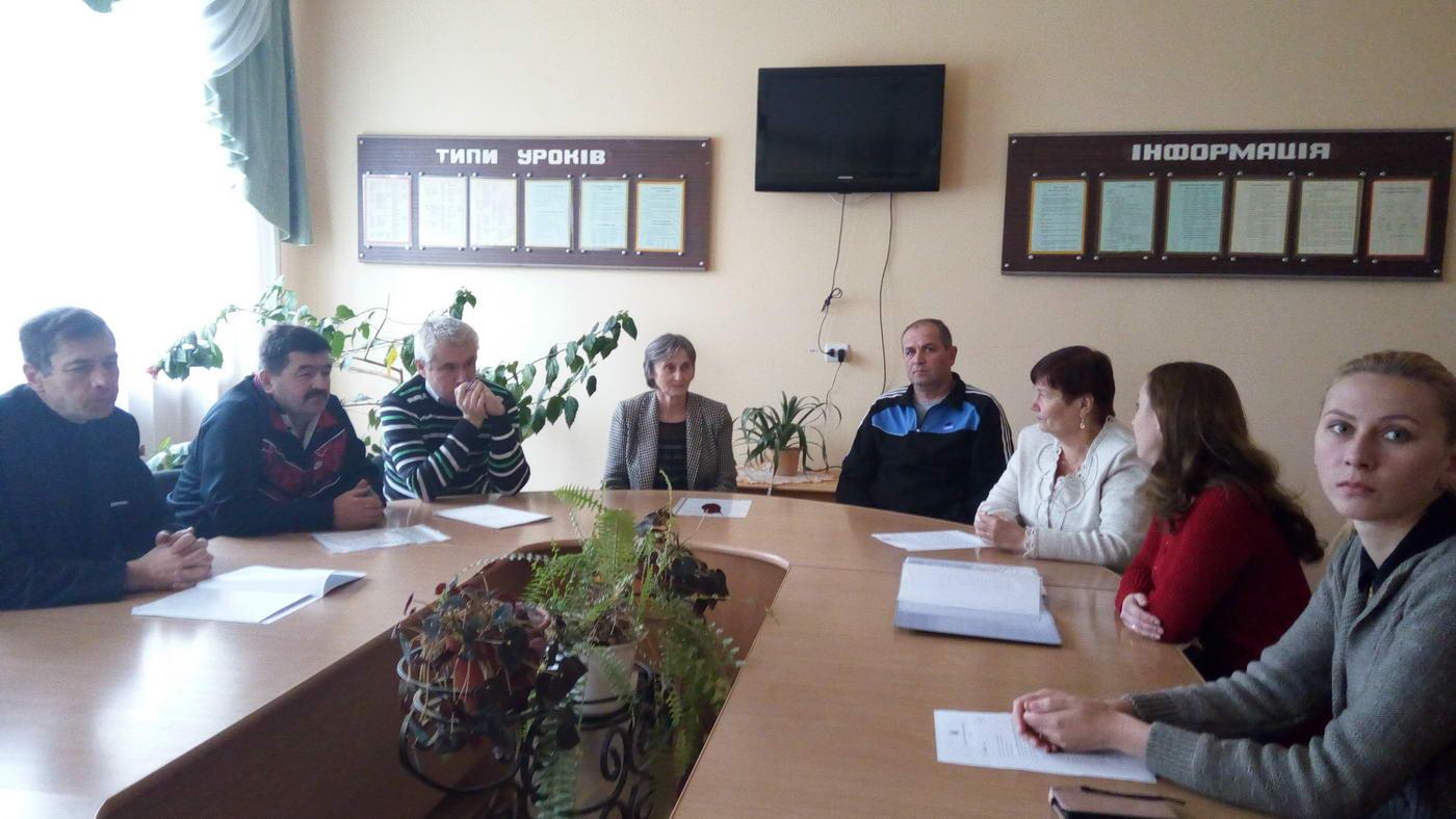Засідання методичної комісії викладачів суспільно-гуманітарних дисциплін