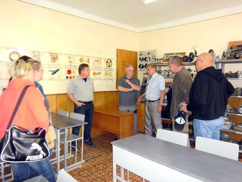 Делегація німецької благодійної організації «Допомога Україні» відвідала ліцей