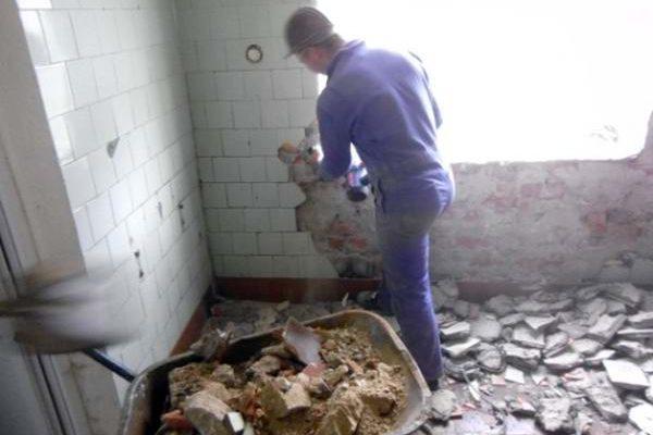 У ліцеї розпочались ремонтні роботи внутрішніх туалетів