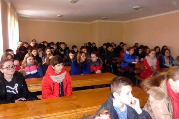 Зустріч учнів ліцею з працівниками Міжгірської районної лікарні