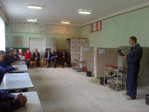 Засідання обласної секції педагогічних працівників будівельного профілю