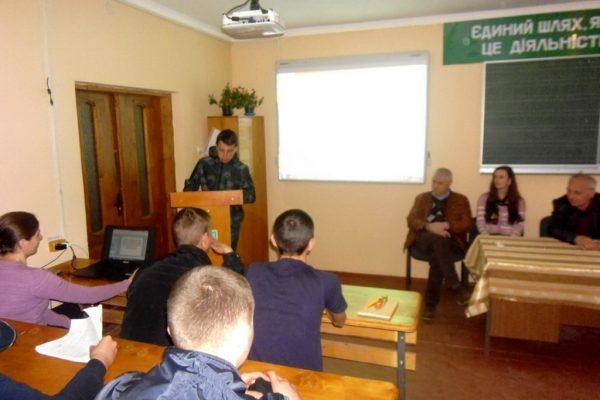 Презентація учнівських проектів на англійській та німецькій мовах із синхронним перекладом