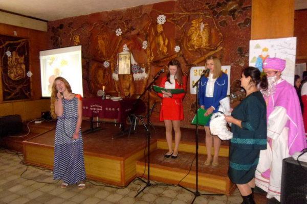 Учні провели концерт до дня святого Миколая