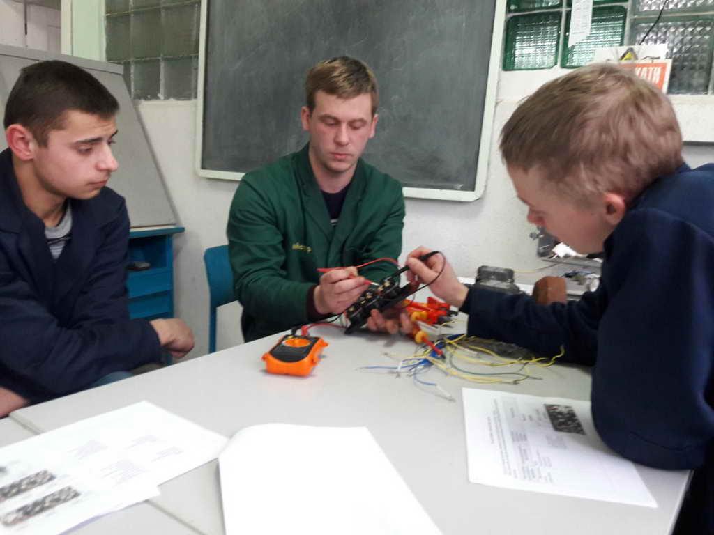 Відкритий урок виробничого навчання «Демонтаж та монтаж командоапаратів управління. Системи управління реверсивним асинхронним двигуном»