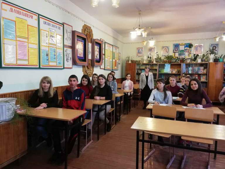 У ліцеї вшановували пам'ять Тараса Шевченка