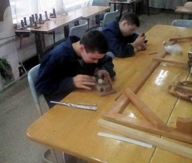 Конкурс професійної майстерності серед учнів виробник художніх виробів з дерева