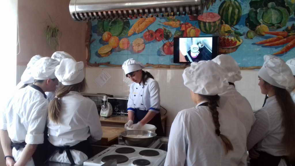 Відкритий урок на тему «Приготування вареників із різними начинками»