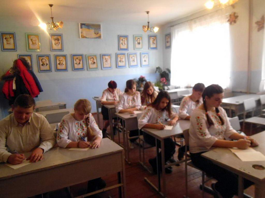 І етап VІІІ Міжнародного мовно-літературного конкурсу учнівської та студентської молоді імені Тараса Шевченка