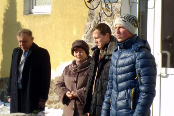 Загальноліцейна лінійка присвячена Соборності України та 3-ій річниці з дня перших розстрілів на Майдані