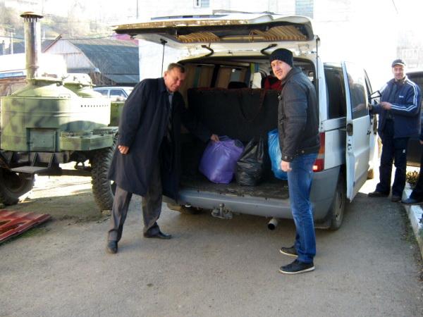 Ліцей продовжує допомагати воїнам АТО