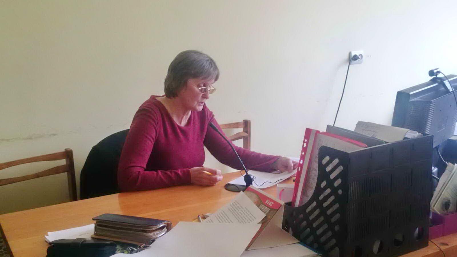 Участь викладача ліцею у обласному вебінарі викладачів української мови і літератури