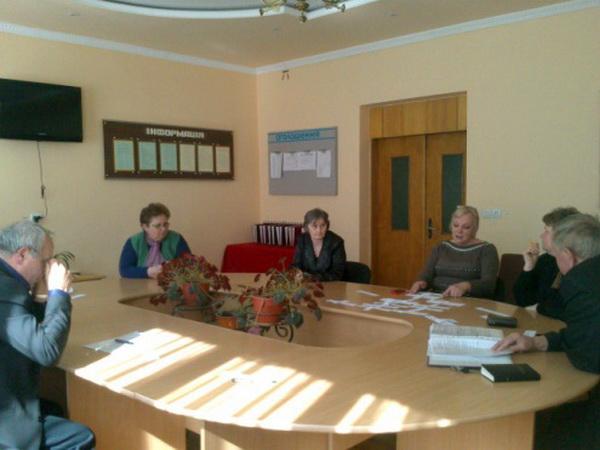 Підсумкове засідання атестаційної комісії І рівня