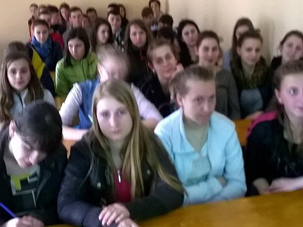 Виховний захід на тему «Бережіть Україну!»