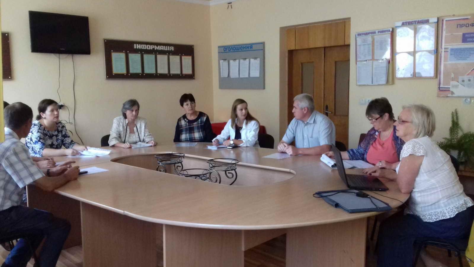 Відбулись серпневі засідання методичних комісій